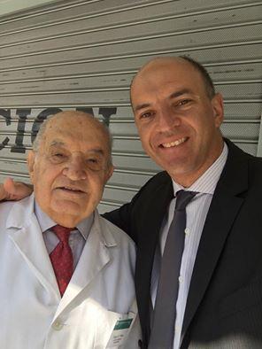 Silvio Rosinov con Dr. Nano