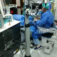Dr Roberto Albertazzi con Femto LDV Z8